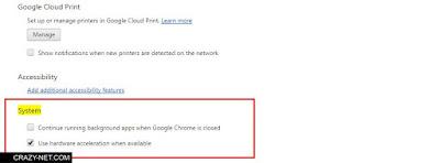 كيفية جعل جوجل كروم يستخدم كمية أقل من طاقة بطارية اللاب توب