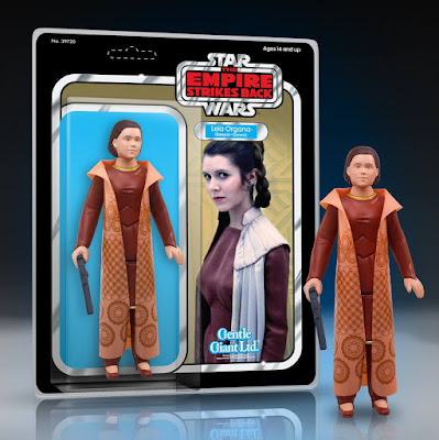 """Star Wars Bespin Gown Princess Leia Organa 12"""" Jumbo Vintage Kenner Action Figure by Gentle Giant"""