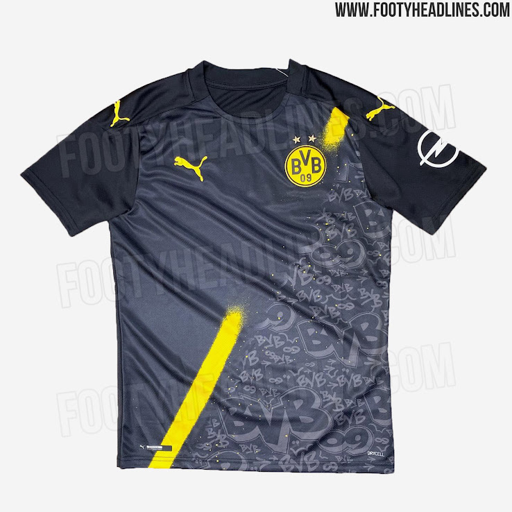 Leaked Dortmund 20 21 Away Kit In Fifa 20 Home Third Predictions Footy Headlines