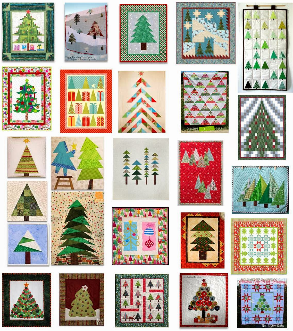 Quilt Inspiration Free Pattern Day Christmas Part 1