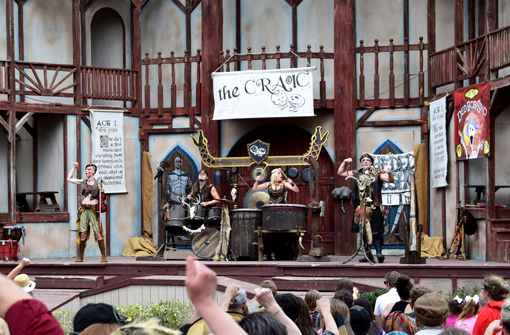 The Craic Show | Georgia Renaissance Festival | Photo: Travis S. Taylor