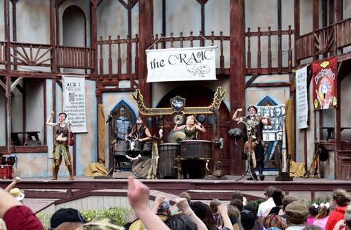 The Craic Show | Georgia Renaissance Festival | Photo: Travis S. Taylor