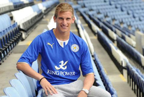 Marc Albrighton là tân binh đáng chú ý nhất của Leicester City