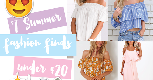 7 Summer Fashion Finds Under $20