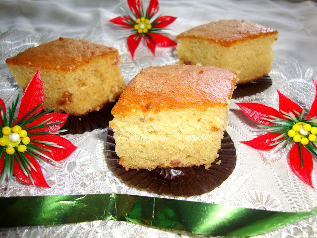 Eggless Sponge Cake with Tutti Fruity / Eggless Sponge Cake recipe / Eggless Cake Recipe