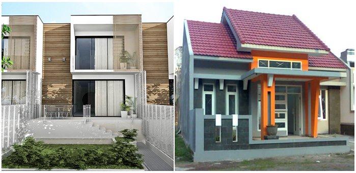 Nahberikut Contoh Desain Rumah Minimalis Modren Mulai Dari Type 70 36 45 21 Serta 2 Lantai Dan