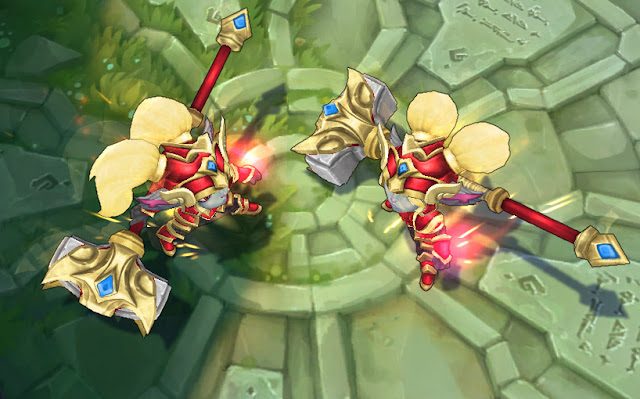 Mod Skin Poppy Battle Regalia Golden Red