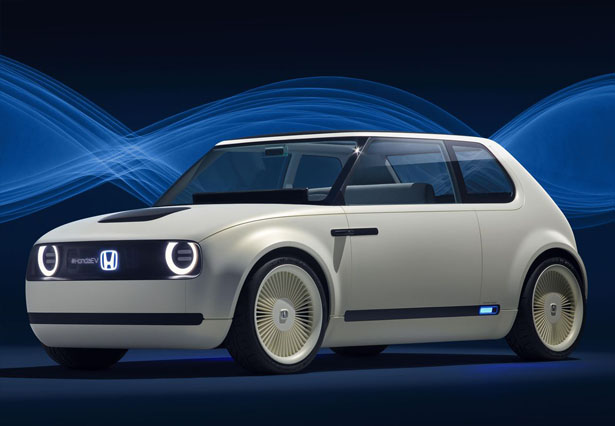 This Honda Urban EV Concept Car Looks Like An Old Car, But Its Inside Is Heavenly