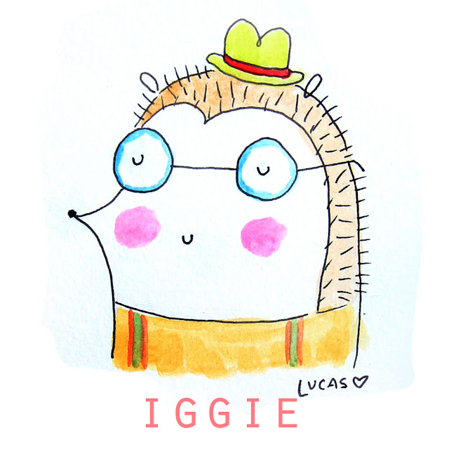 Iggie the Hedgehog | Linzer Lane Blog