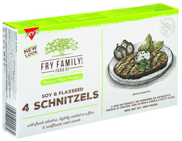 Fry's Vegan Soy + Flaxseed Schnitzels