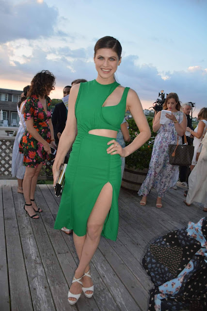 Alexandra Daddario at the Women's Health and FEED's 6th Annual Party