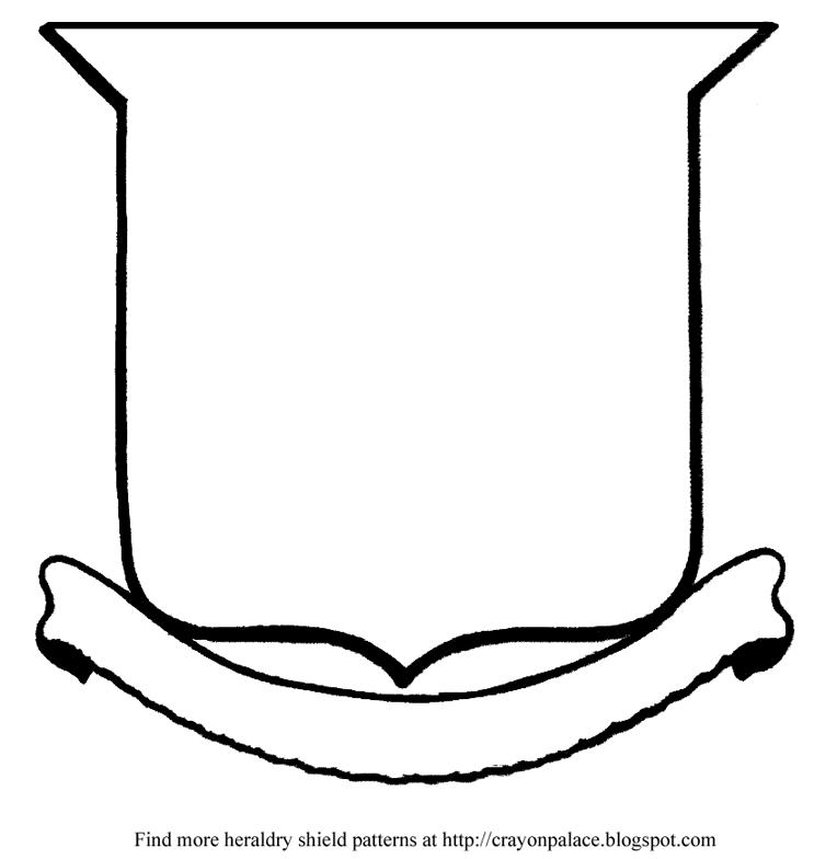 heraldry how to draw almond shield