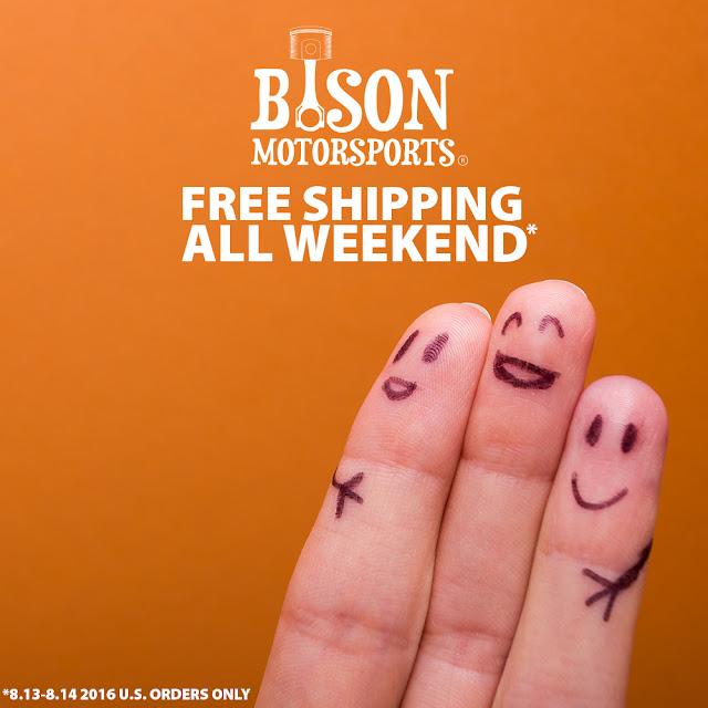 Bison Motorsports Free Shipping