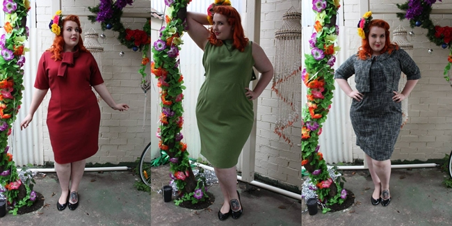plus size handmade dresses from bombshell vintage