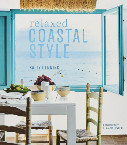 Relaxed Coastal Style Coffee Table Book