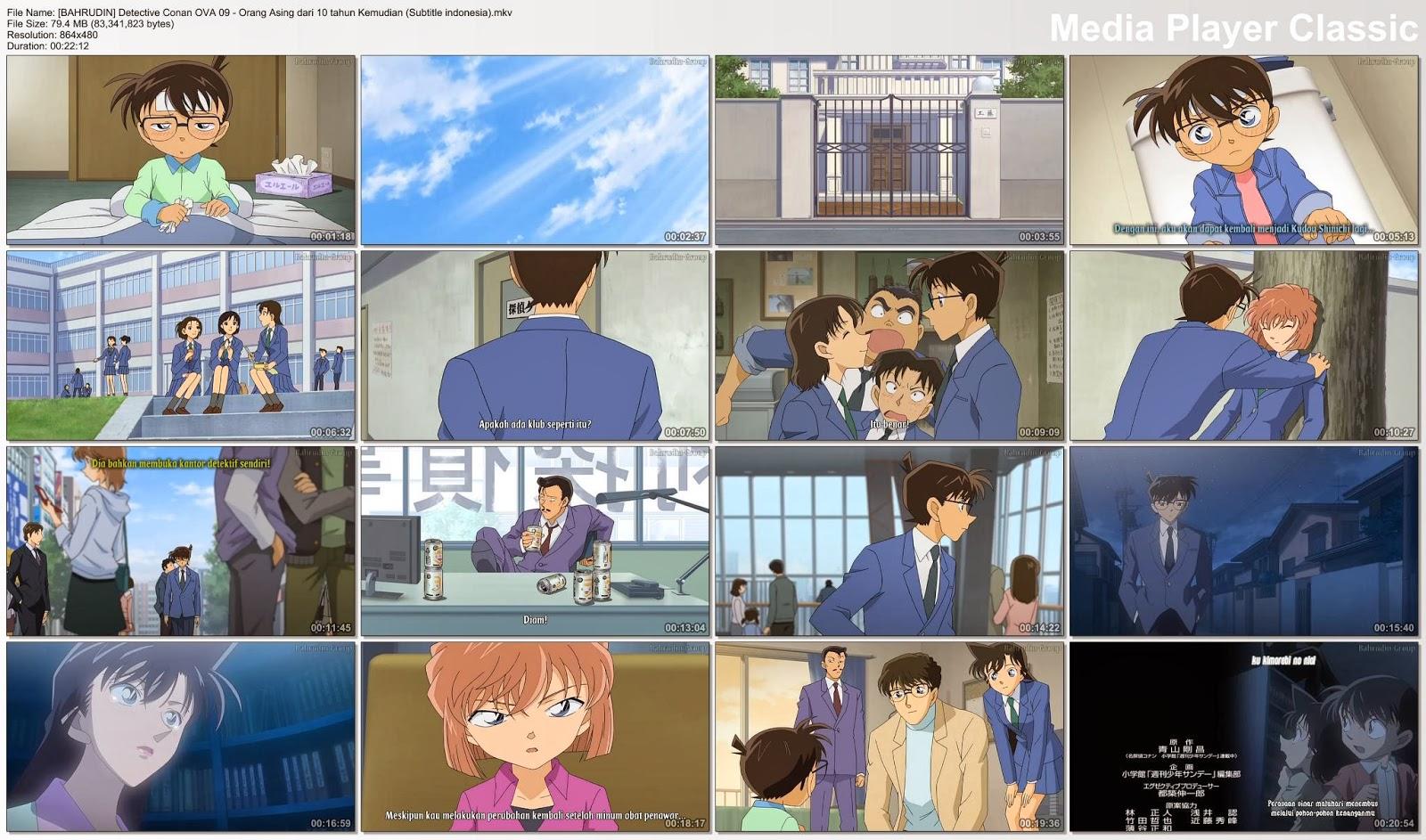 AF_Detective Conan Sub Indo: Detective Conan OVA Bagian 9 - Orang Asing  dari 10 tahun Kemudian SUB INDO