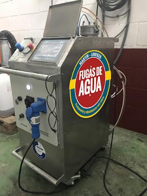 reparación fugas agua