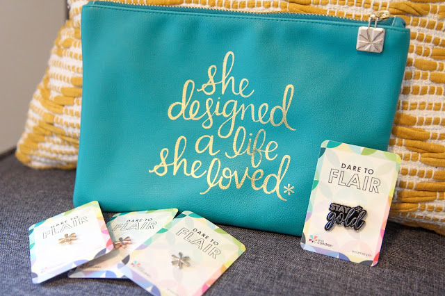 Erin Condren Clutch and Enamel Pins Review