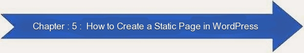 Next: How to Create a Static Page in WordPress