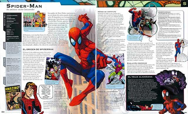 Vista Previa 03 Enciclopedia Marvel en español y PDF