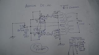 esquema elétrico do inversor
