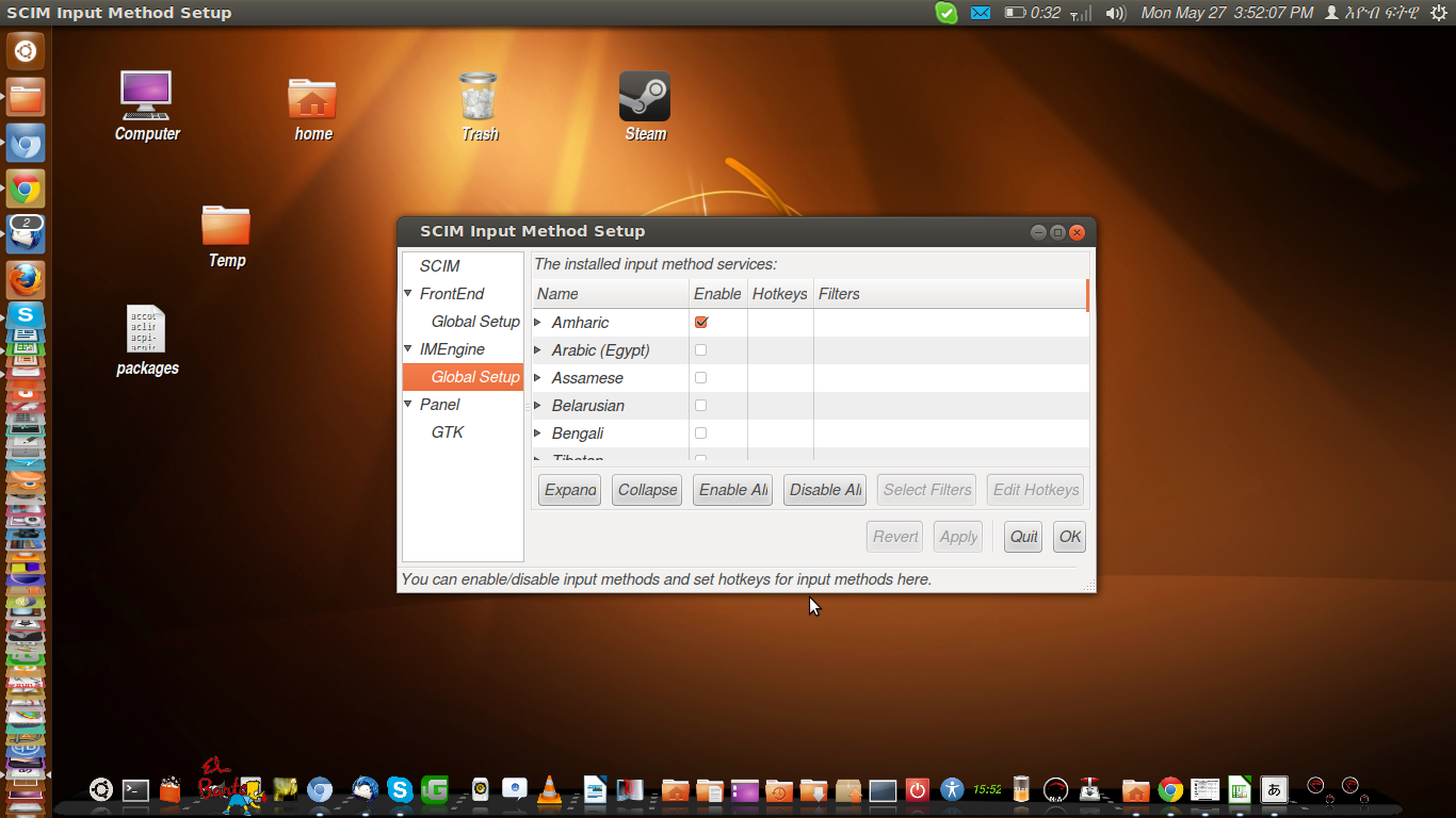 How to enable Amharic/Tigrinya on Ubuntu | Ubuntu/linux for