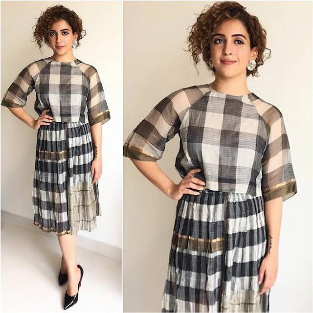 Sanya Malhotra in Urvashi Kaur