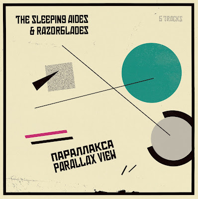 "THE SLEEPING AIDES & RAZORBLADES  -PARALLAX VIEW(10""+CD)"