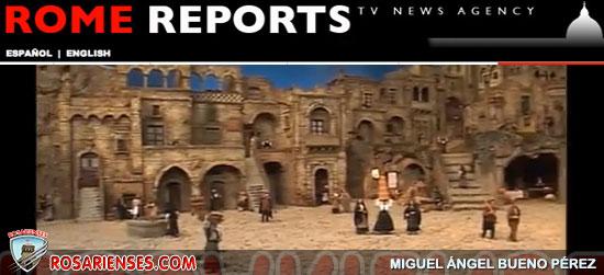 Inauguran el Nacimiento de la Plaza de San Pedro, con nuevas figuras | Rosarienses, Villa del Rosario