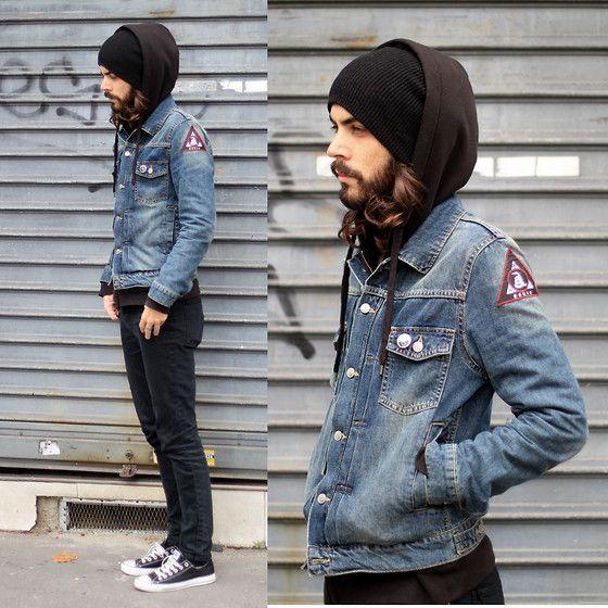 Look Masculino com Pachets na jaqueta