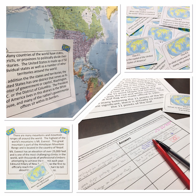 Overwhelmed by all this talk of differential learning? Too many learning styles and modifications to keep them all straight? Use ready-to-implement scavenger hunts to teach your next Social Studies lesson and address al learning styles at once! #learningstyles #scavengeforknowledge #socialstudiesscavengers