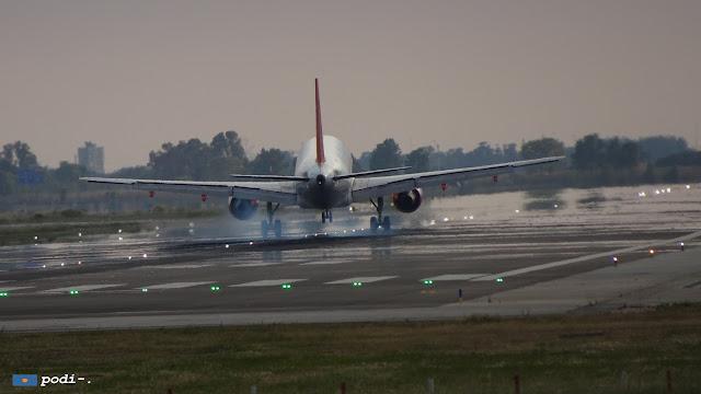 mirar como aterrizan los aviones en el Prat