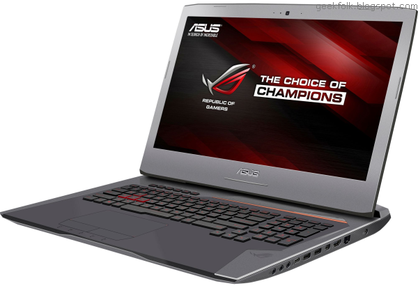 Asus G752VT-DH72