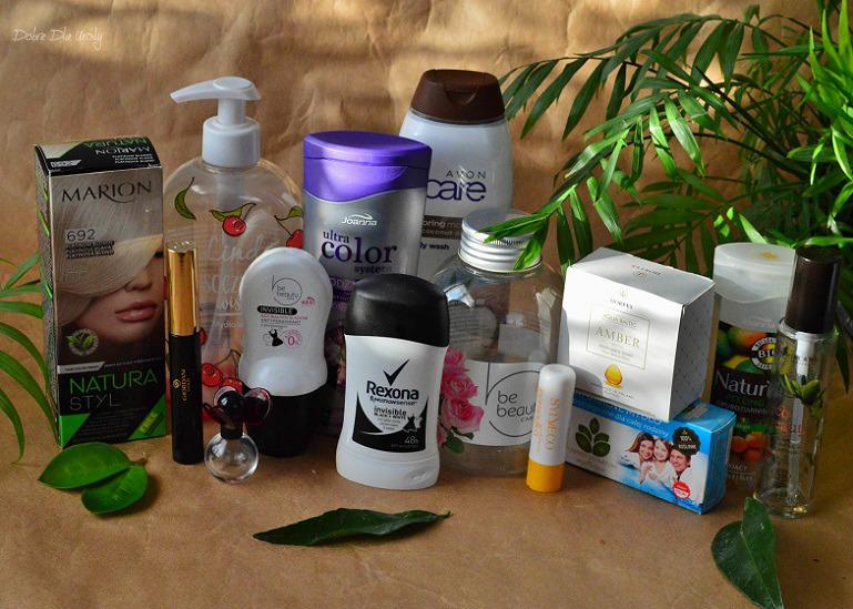 Kosmetyczne zużycia - denko listopada w minirecenzjach