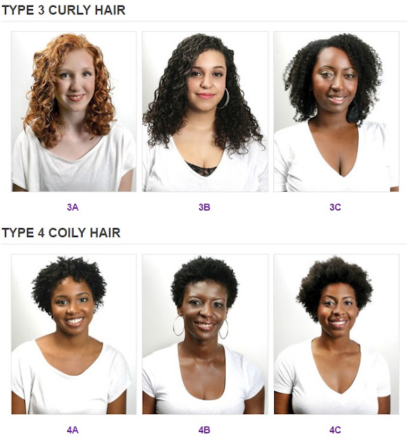 Naturallycurly.com Hair Typing Chart