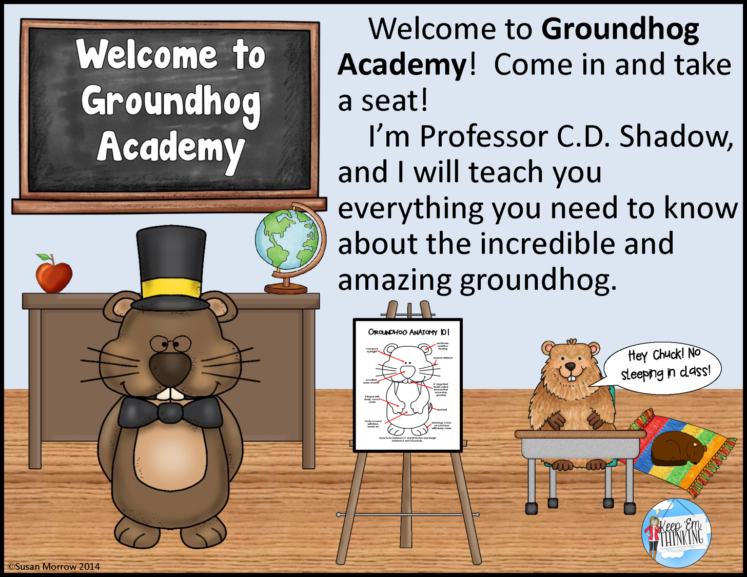 https://www.teacherspayteachers.com/Product/Groundhog-Unit-Welcome-to-Groundhog-Academy-1072857