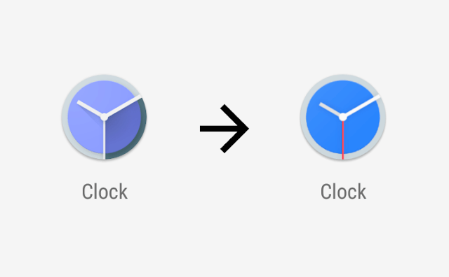 clock animated android