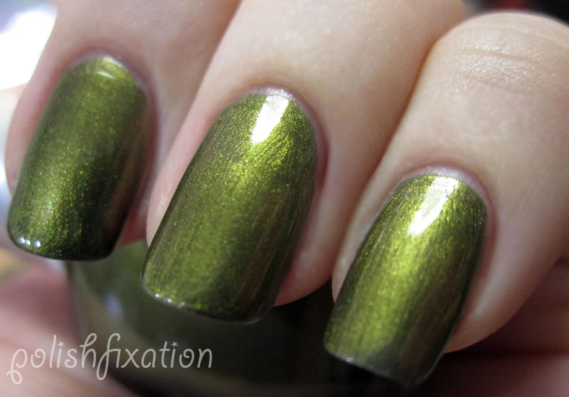 Golden Green Is As The Name Suggests A Gold Color I Have Heard Of It Being Compared To Chanel S Peridot But Don T Own Polish