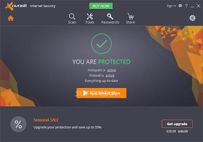 تحميل برنامج افاست - اقوى برامج مكافحة الفيروسات للكمبيوتر Avast Internet Security 11.2.2262