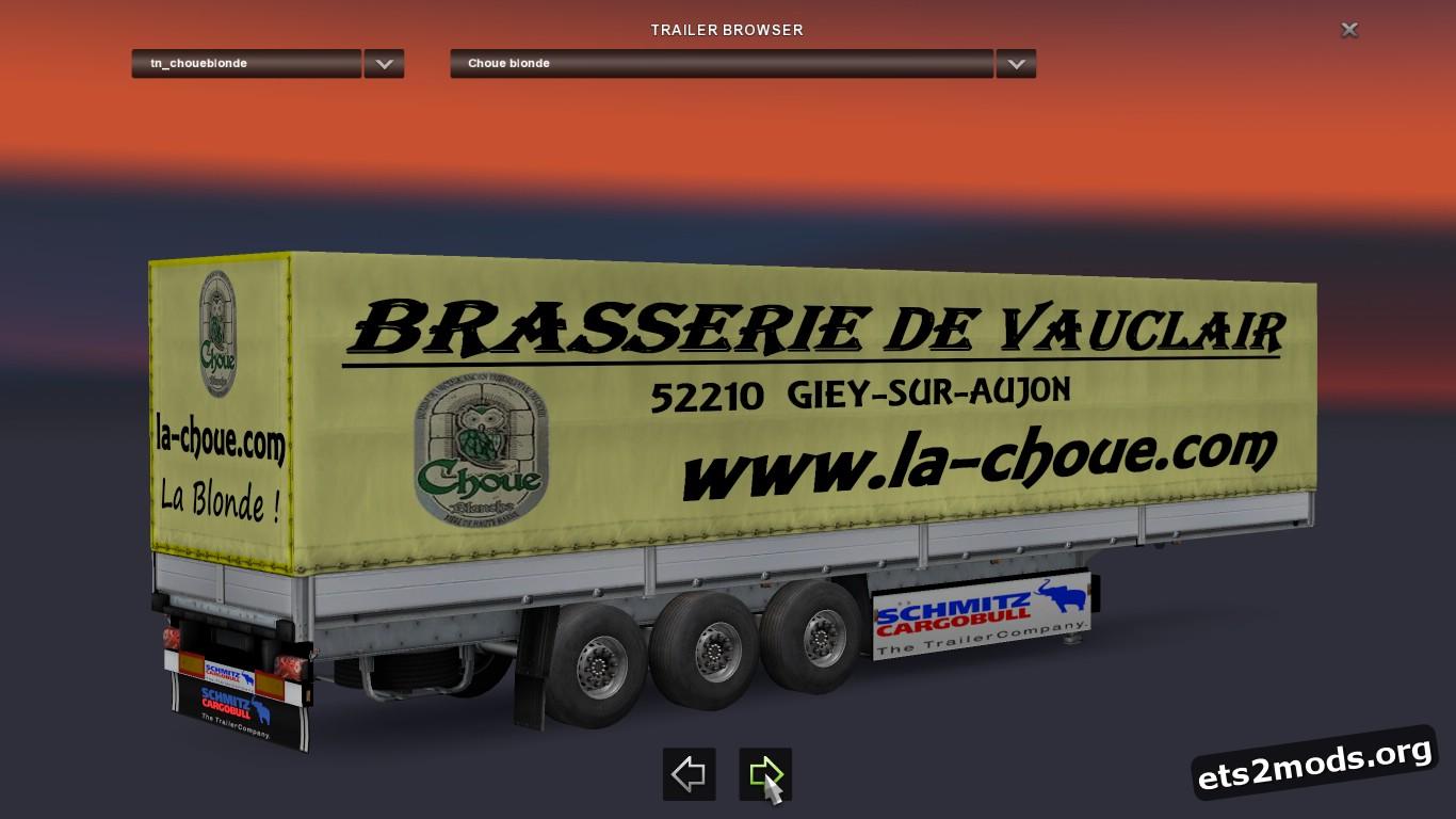 Bière Choue Trailer Pack