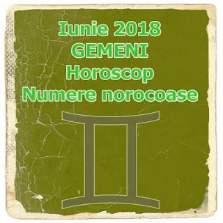 Iunie 2018 GEMENI Horoscop Numere norocoase Previziuni