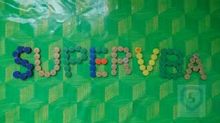 Membuat huruf timbul 3D dengan tutup botol