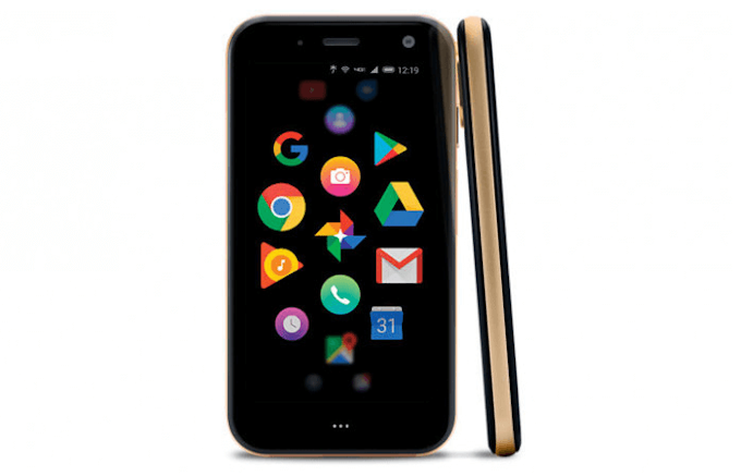 Palm announces accessory smartphone with tiny display