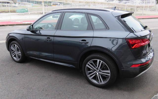 Novo Audi Q5 2018 - Cinza Manhattan