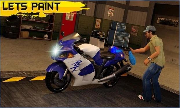 moto mechanic sim bike  quad apk  free download android