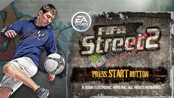 FIFA Street 2 PSP ISO CSO PPSSPP Android dan PC SaveData