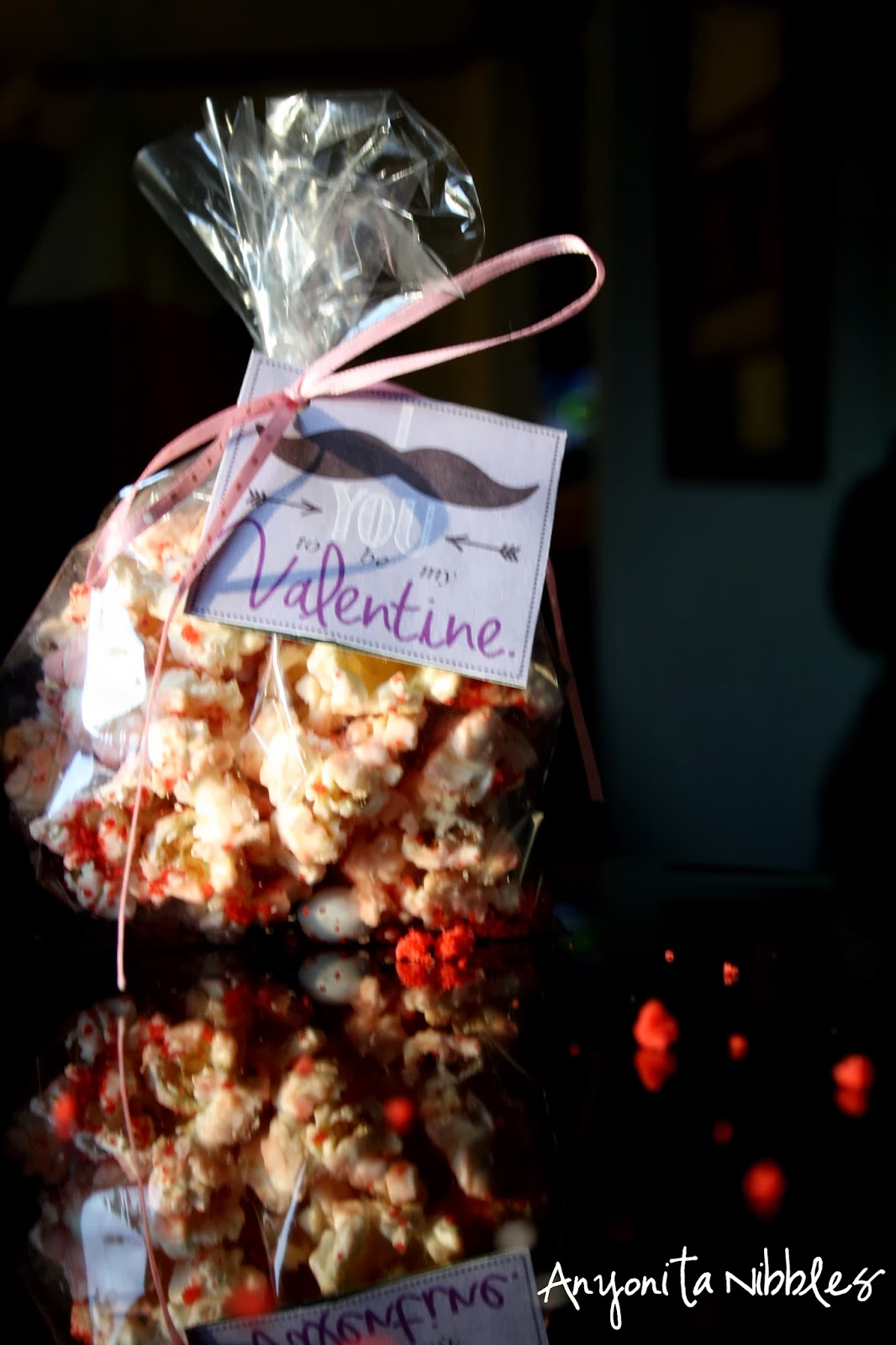Red Velvet Popcorn | Anyonita-nibbles.co.uk