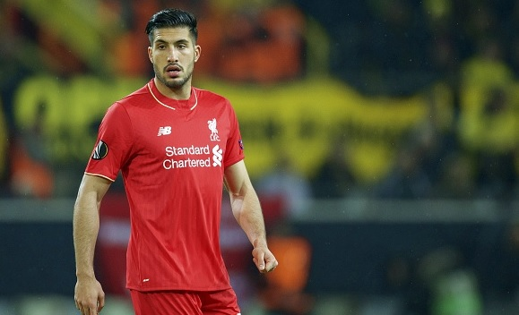 Liverpool midfielder Emre Can returns to training from ankle injury