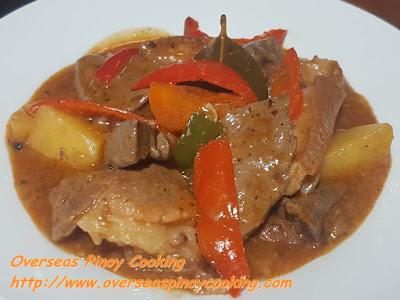 Pork and Liver Afritada