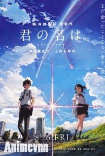Kimi no Na wa - Your Name, Câu chuyện về phép màu và tình yêu 2016 Poster